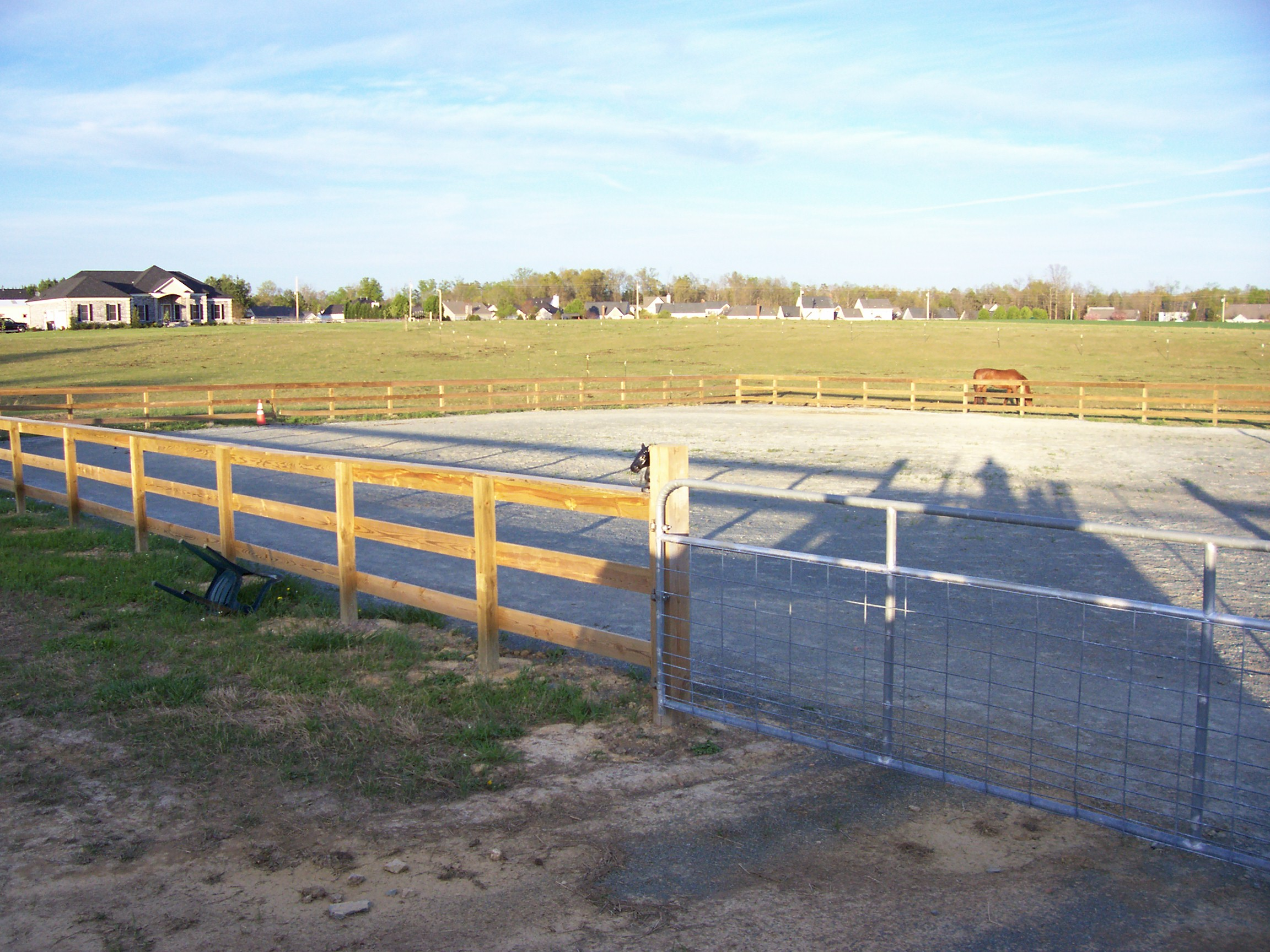 M and R Stables - Riding/Training Ring